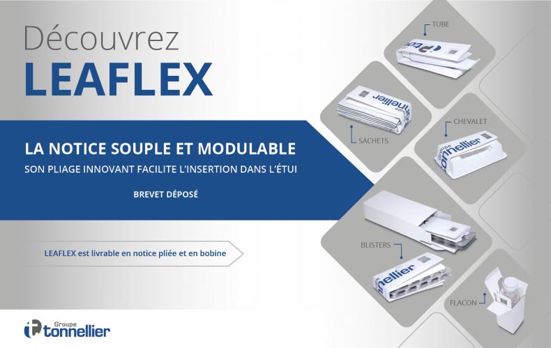 Le Groupe Tonnellier innove encore une fois avec LEAFLEX !