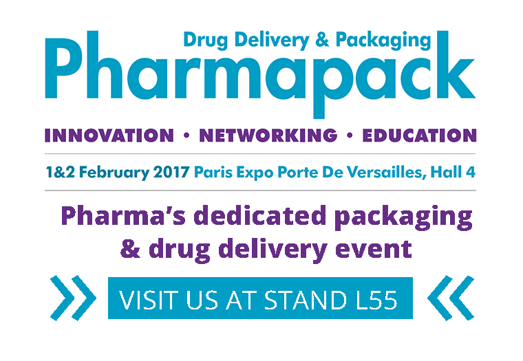 Pharmapack Europe trade show 2017