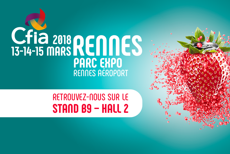 Salon CFIA Rennes 2018