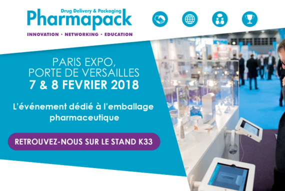 Salon Pharmapack Europe 2018
