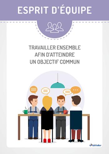 Valeur Groupe Tonnellier : esprit d'équipe