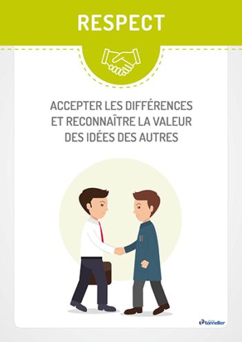 Valeur Groupe Tonnellier : respect