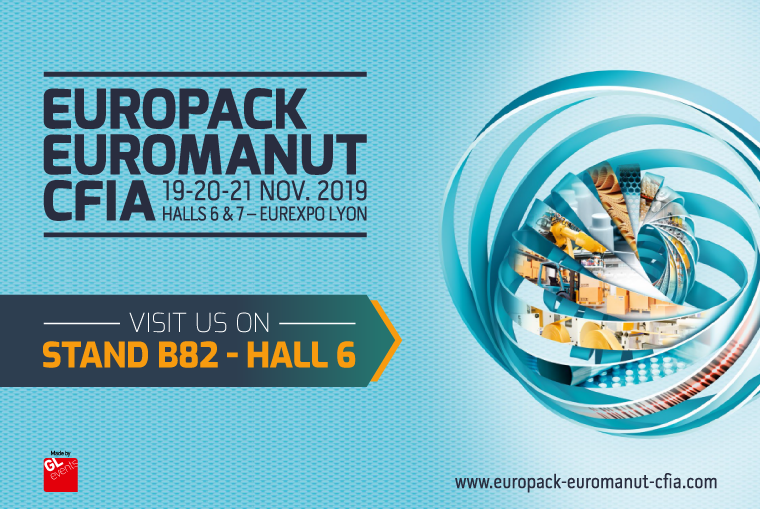 EUROPACK EUROMANUT CFIA LYON 2019