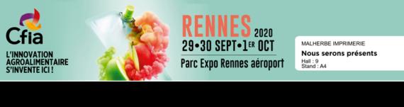 Salon CFIA Rennes 2020